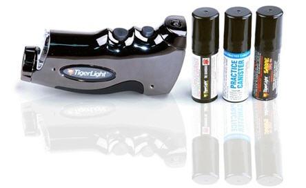 tigerlight flashlight and spray