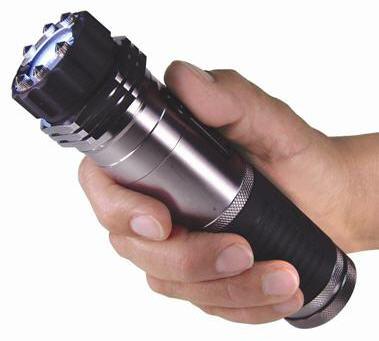zap light stun gun flashlight